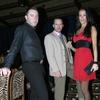 Lanska havajka Tina Gaber, njen Primož Bohinc in Igor Šajn iz Agencije Queen.