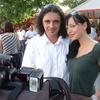 S Sabino so se slikali tudi obiskovalci in fotografi.