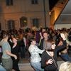 Zvečer je bilo živo in tudi Sabina je uživala v glasbi in plesu.