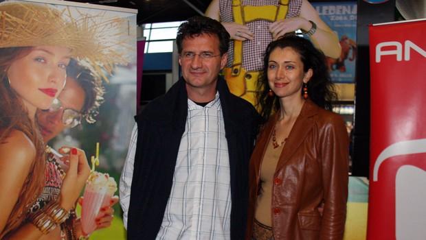 Redna obiskovalca kina sta Milan M. Cvikl in urednica revije Samaritan Jerca Legan. (foto: Jasmina Hasković)