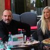 Tiskovna konferenca s Tonyjem Cetinskim pred nastopom v Križankah. 2
