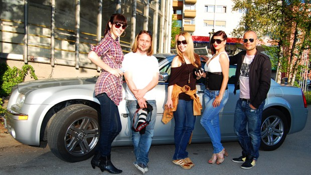 Ekipa pod vodstvom Miran Juršiča in znamenite modne mačke Irene Lušičić je bila na koncu dela navdušena nad Jasno. (foto: DonFelipe)