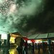 Noč na Vrhniki kljub dežju uspela