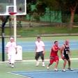 Ekskluzivno: Aleš Čepin in Rok Furlan igrata košarko
