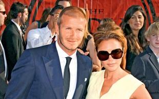 Victoria in David Beckham: Rodila hčerko Harper