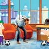 Nogometaš se je za neko otroško oddajo šalil s priljubljenima stripovskima junakoma Phineasom in Ferbom.