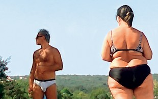 Vili Resnik: Z obilno Tamaro na plaži