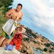 Jure Košir: Užival v trenutkih s sinom