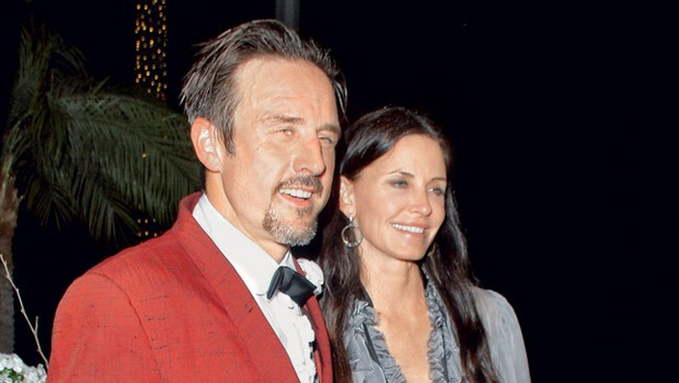 David Arquette in Courteney Cox (foto: Profimedia.si)