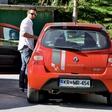 Jernej Tozon: Zasačen na parkirišču
