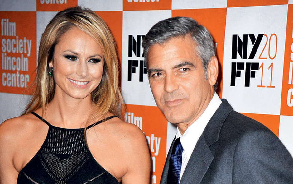 Stacy Keibler in George Clooney (foto: Profimedia.si)