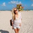 Maja Malnar: Zabavala se je v Miamiju