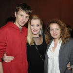 Jakob, Ajda in Tjaša Smrekar (foto: Sašo Radej)