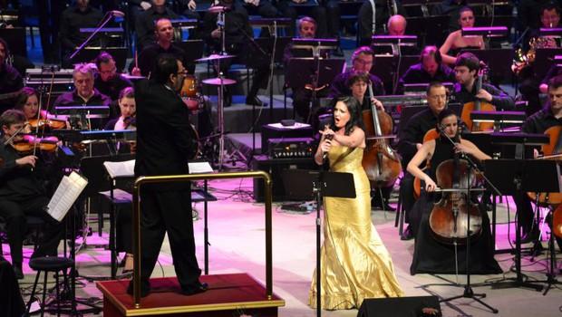 Alenka Gotar se je predstavila s skladbo Jedina  (foto: Evrovizija.com)