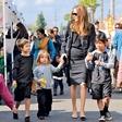 Brad Pitt in Angelina Jolie: Njuni otroci 'zajtrkujejo' Coca-Colo