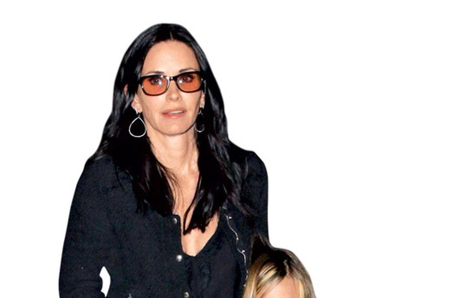 Courteney Cox s hčerko Coco (foto: Profimedia.si)