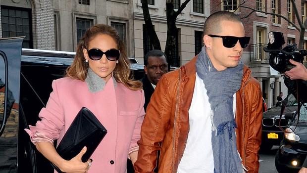 Jennifer Lopez in njen fant Casper Lopez (foto: Profimedia.si)