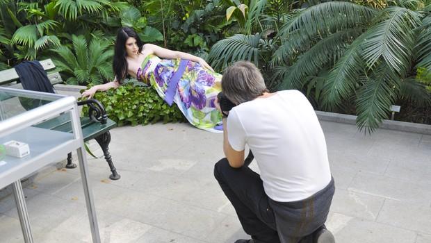 Eva Boto se je na fotografiranju za revijo Story pred fotoaparatom vedla kot prava manekenka. (foto: DonFelipe)