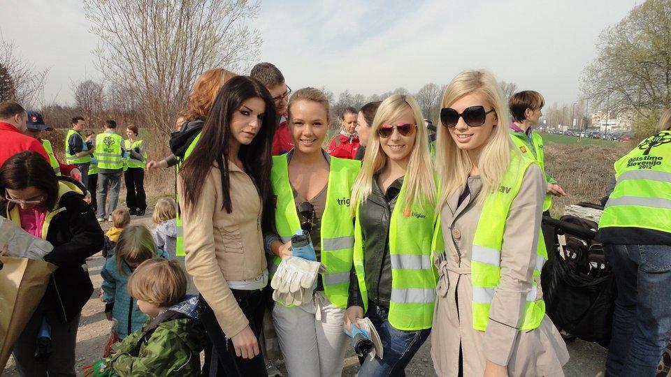 V Ljubljani je Jelka Šajn nadzirala Rebecco Kim, Anjo in Anjezo.