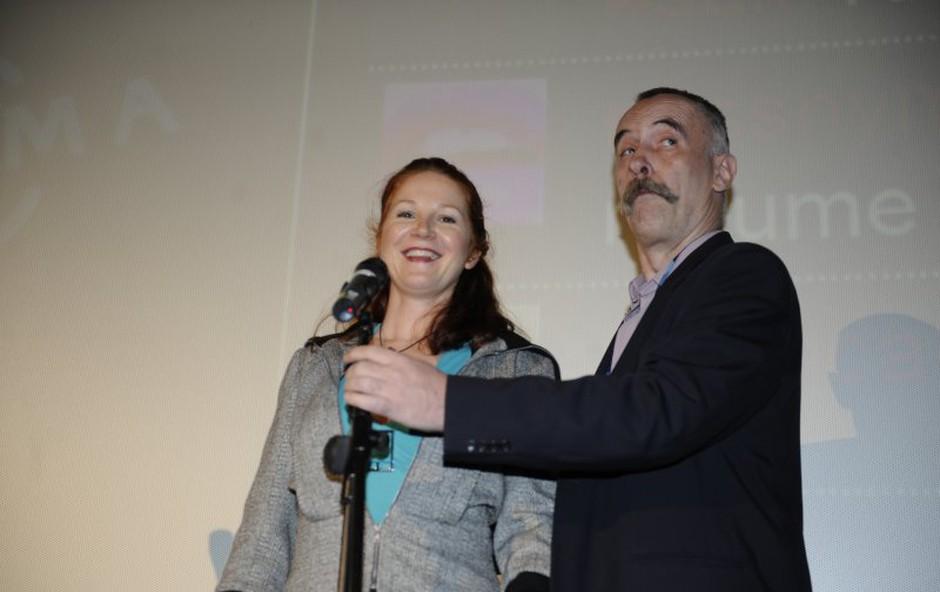 Sonja Javornik in Jonas Žnidaršič (foto: Primož Predalič)