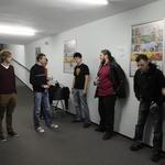 Tekmovalci v zaodrju (foto: Primož Predalič)