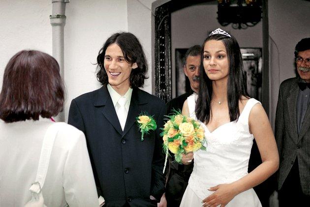 Renata in Primož Peterka poroka