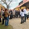 Prav na dan našega obiska so kmetijo obiskale še članice Aktiva kmečkih žena iz Hoč pri Mariboru.