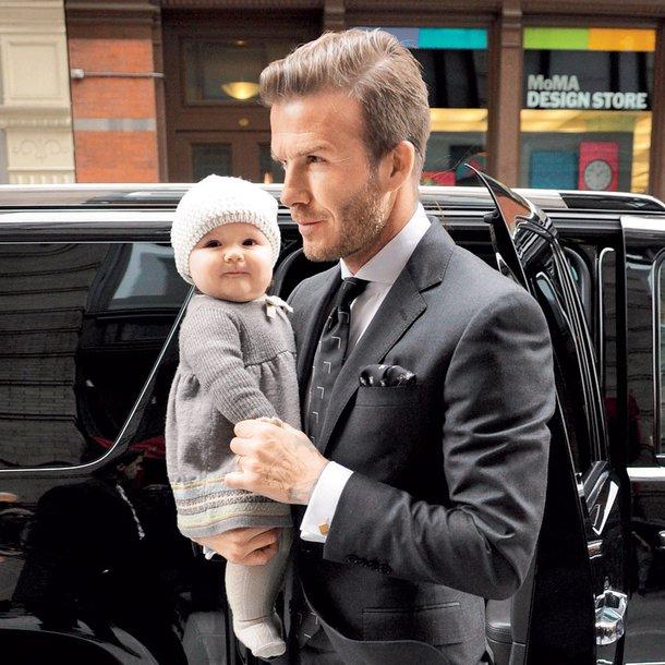 Harper Seven in David Beckham