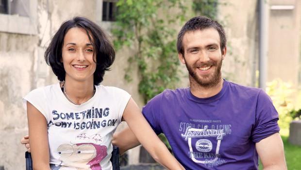 Nina Wabra in Gal Jakič (foto: Helena Kermelj)
