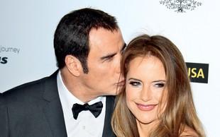 John Travolta in Kelly Preston: O ločitvi ni govora