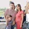 Film si je ogledal tudi Marinko Galič. Spremljala sta ga žena Sara in sin Marin.