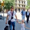 Zlatko Dedič s hčerkico Saro