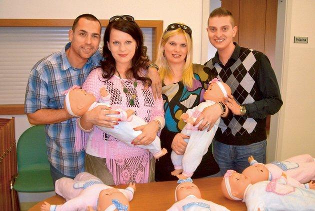 Bodoči starši so na svoje dojenčke dobro pripravljeni.
