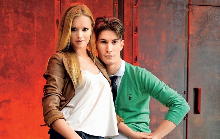 Nadiya Bychkova in Miha Vodičar (foto: Primož Predalič)