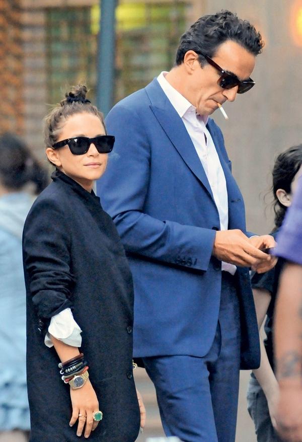 Mary-Kate Olsen in Olivier Sarkozy