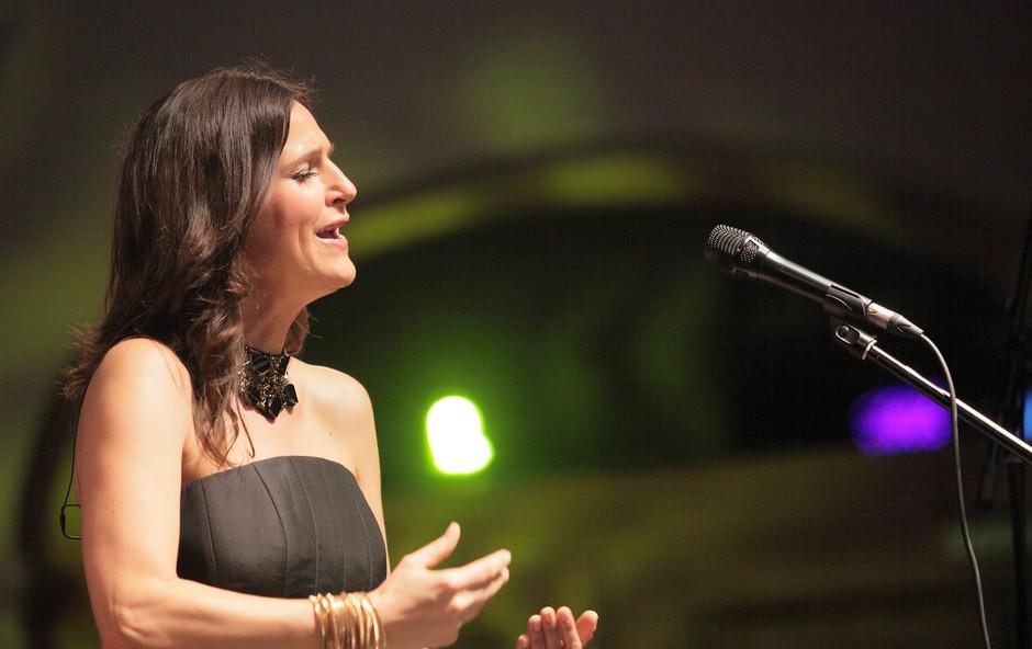 Manca Izmajlova je navdušila v novem Letnem gledališču Khieselstein. Foto: Matic Zorman (foto: DonFelipe)