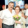 Oče in mama Majda Žolnir