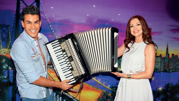 Natalija Verboten &  Domen Kumer (foto: revija Lea)