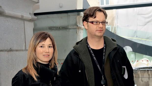 """Jurij in Sabina Zrnec: """"Želiva si le miru"""" (foto: Goran Antley)"""