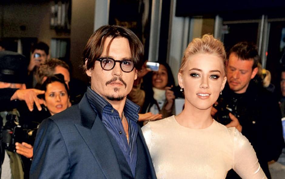 Johnny Depp in Amber Heard (foto: Shutterstock)
