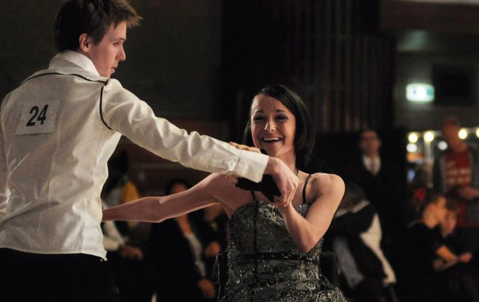 Prvo državno tekmovanje v plesu na vozičkih pri nas (foto: Osebni arhiv)