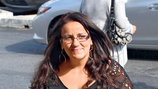 Očitno ne najbolj uravnovešena Crystal Workman je vzpostavila stik s hollywoodskim publicistom Jonathanom Hayem in ga zaman poskušala pregovoriti, da na internetu objavi fotografije, na katerih je njena starejša hčerka Shanelle gola. (foto: Profimedia.si)