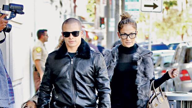 Casper Smart in Jennifer Lopez (foto: Profimedia.si)