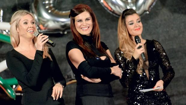 Sanja Grohar, Suzana Jakšič in Stančka Šukalo so še na začetku decembra stale skupaj na odru ob jubileju 200. oddaje. (foto: Nova press)