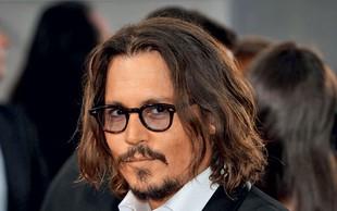 Johnny Depp: Pel bo z bivšo