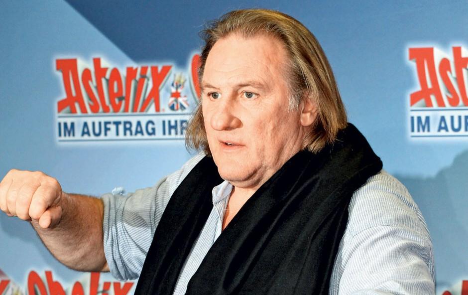 Gérard Depardieu: V Rusiji bo odprl restavracijo (foto: Shutterstock)