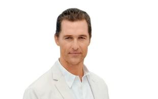 Matthew McConaughey zaradi diete skoraj oslepel