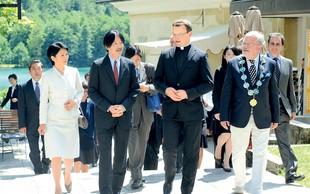 Japonski princ v Sloveniji