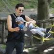 Orlando Bloom s sinom uživa v New Yorku