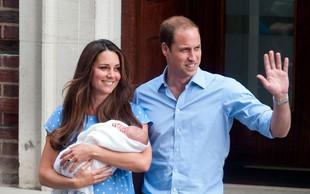 Kate in William prvič pokazala malega princa!